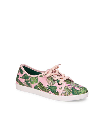 Grace Pink Jungle Sneakers
