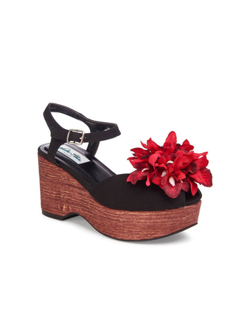 Kellie Flower Wedge