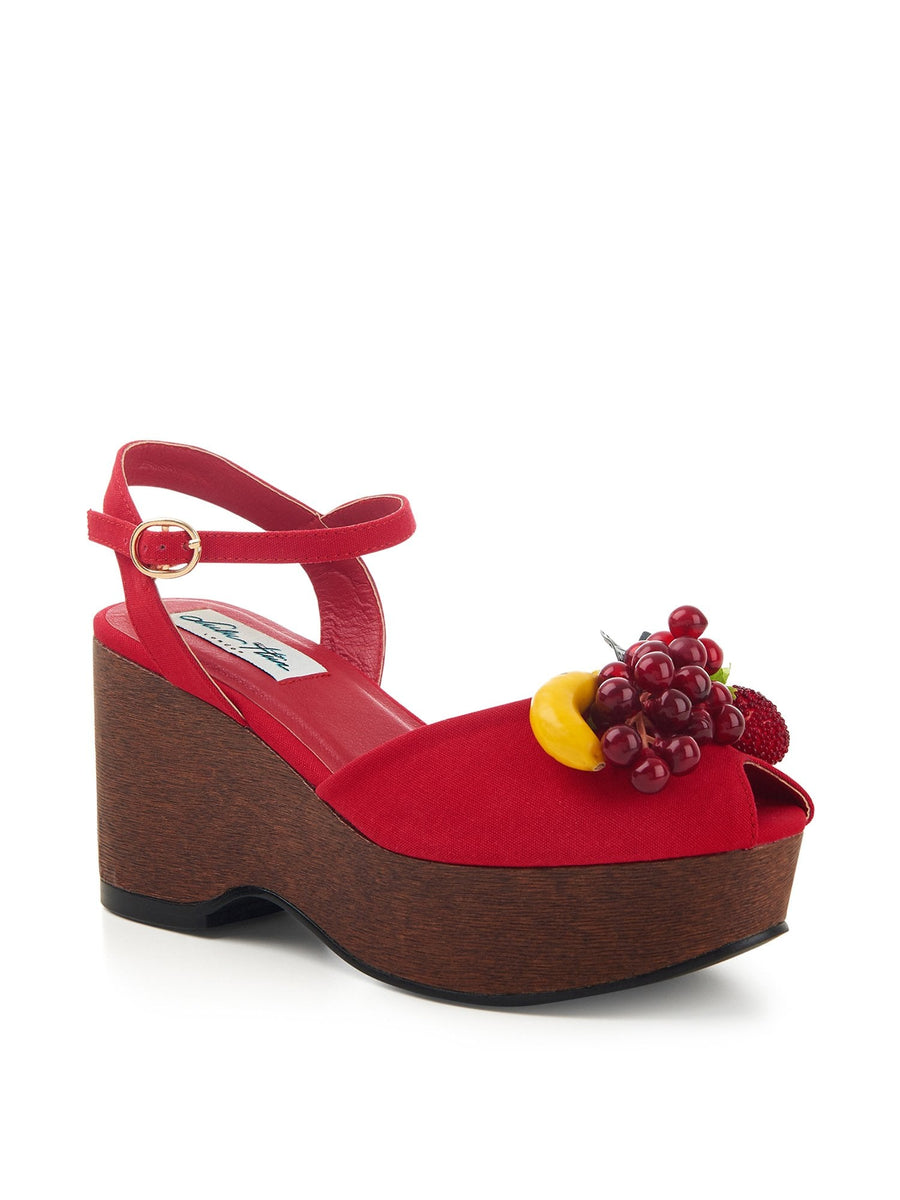 Kellie Fruits Wedge