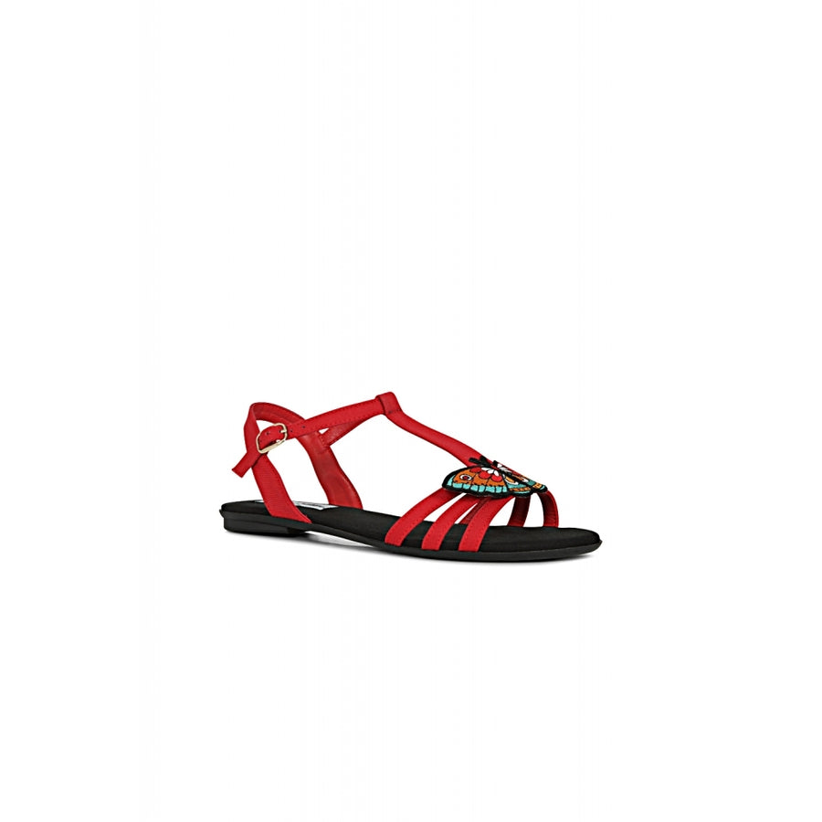 LOTTIE BUTTERFLY TATTOO SANDAL