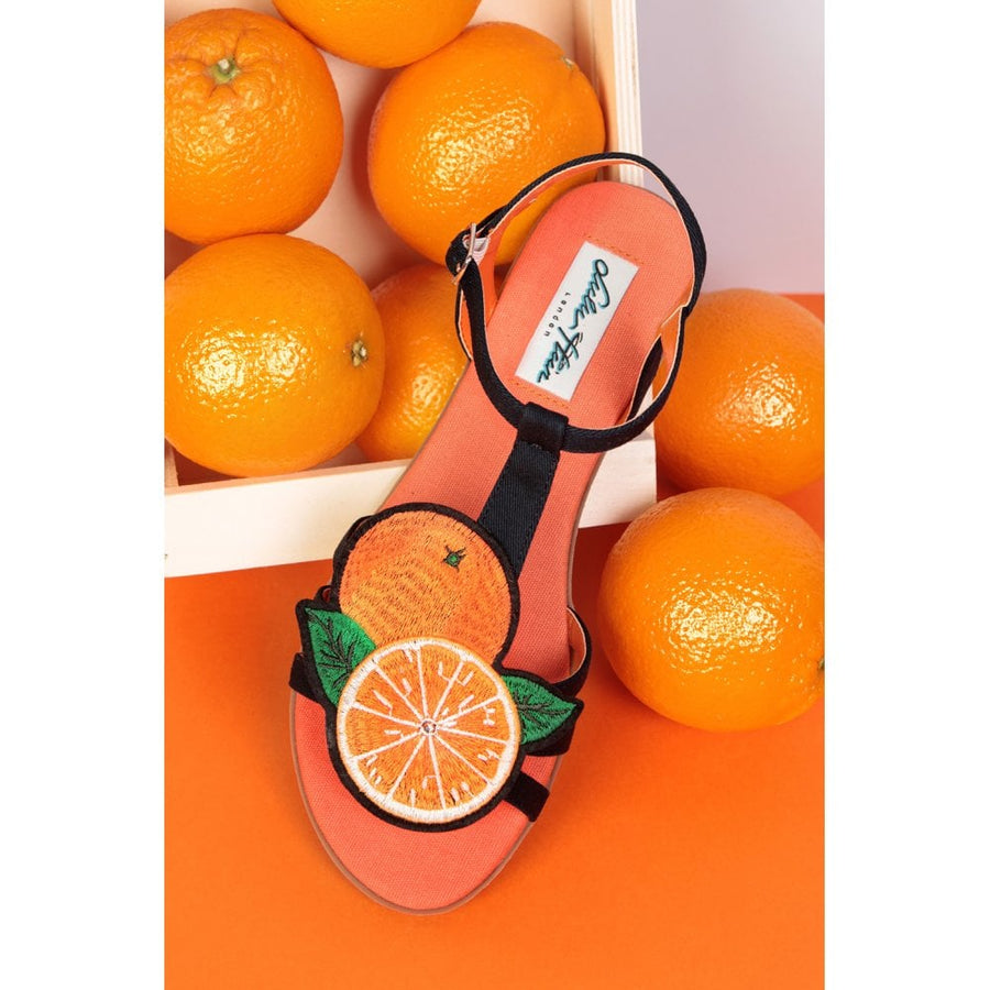 Lottie Orange Sandal
