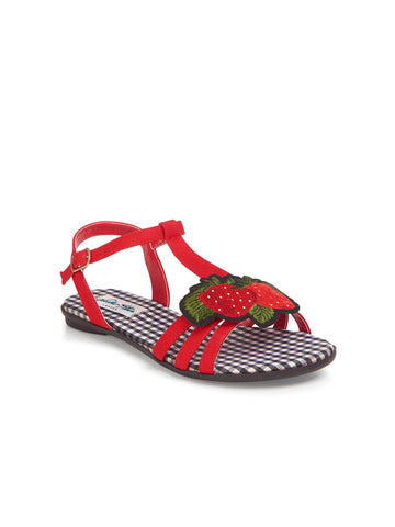 LOTTIE STRAWBERRY SANDAL