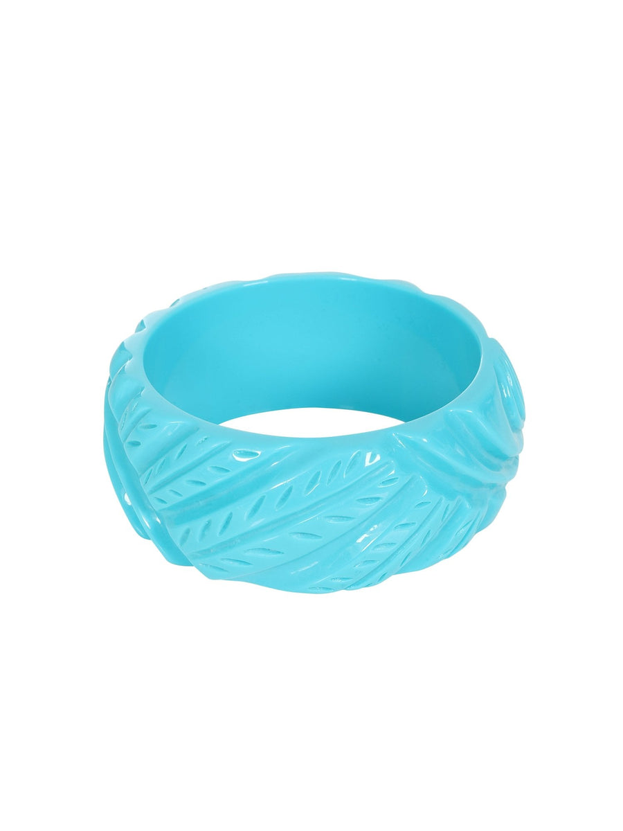 PAULINE CARVED BANGLE