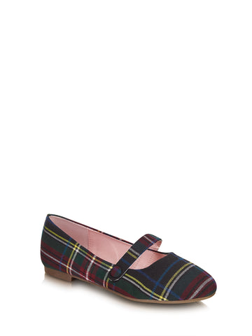 Sally Tartan Flats - Lulu Hun Vintage Shoes