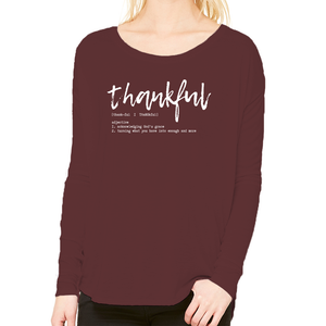 Thankful: Long Sleeved Tee