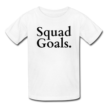 Squad Goals {Kids Tee} - white