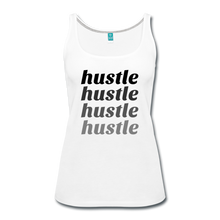 Hustle - white
