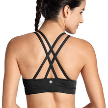 STRAPPY Sports Bra - Black