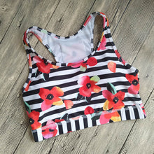 ENDURANCE Phone Bra - Stripes & Flowers