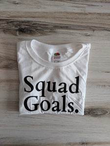 Squad Goals {Kids Tee}