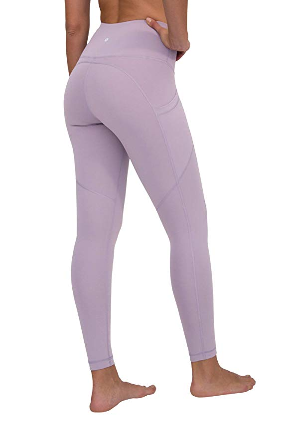 CONTOUR LEGGINGS - Iced Mauve