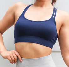 VITAL BRA - Medium Impact Support {Blue}