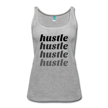Hustle - heather gray