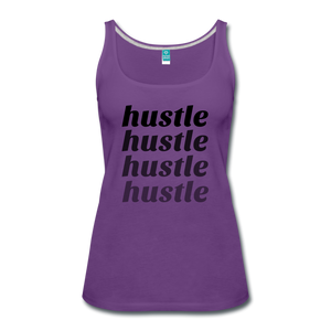 Hustle - purple