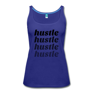 Hustle - royal blue
