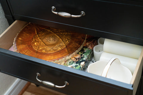buffet table drawer