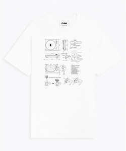 TURNTABLE Graphic tee (unisex)
