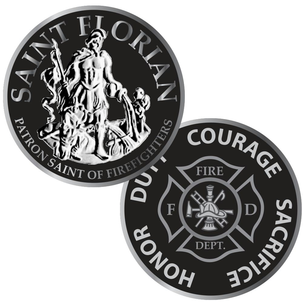 Firefighter, EMS & IAFF Challenge Coins