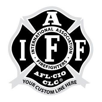 Custom IAFF Decals