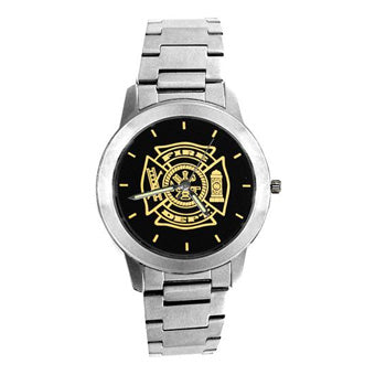 Stainless Steel Firefighter Watches