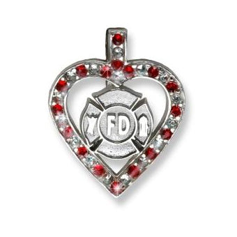 Firefighter Sterling Silver Charms & Chains