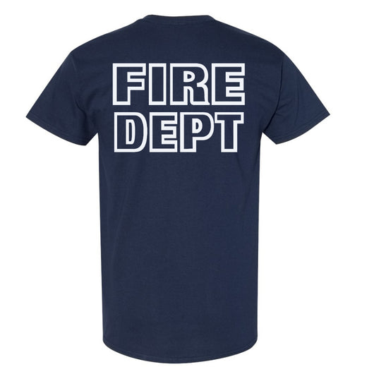 Fire Dept Navy Duty Shirt