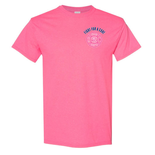 Breast Cancer Awareness Fire Dept Duty Shirt