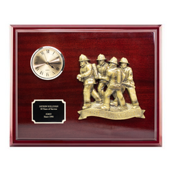 The Bravest Clock Plaque