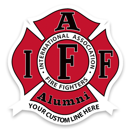 Custom IAFF Alumni Decal