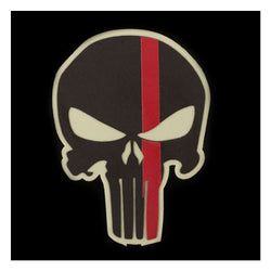 IdentiFire American BadAss Thin Red Line Helmet Decal Reflective