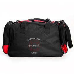 Customized Duffle Bag with Maltese Embroidery
