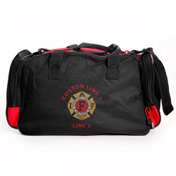 Customized Duffle Bag with IAFF Embroidery