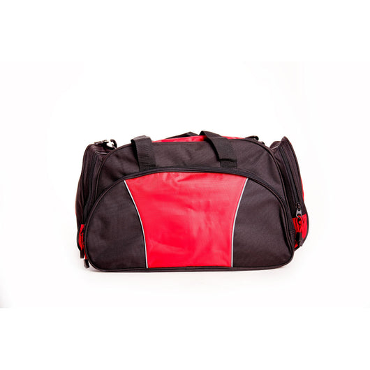 Fire Dept Maltese Embroidered Duffel Bag