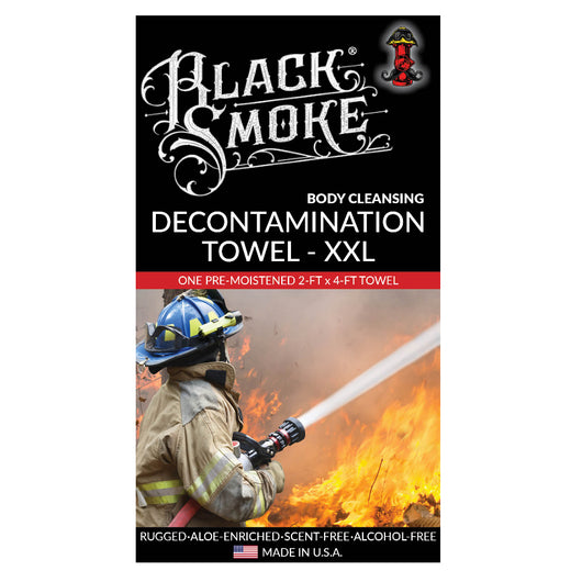 Largest Body Cleansing Towel for Firefighters to remove dirt and soot