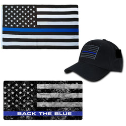 Thin Blue Line Package Back The Blue