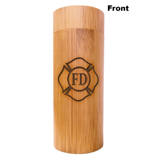 Firefighter Maltese Bamboo Sunglasses Case Firefighter Gifts