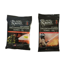 Firefighter Decontamination Combo package with Wipes and Towel