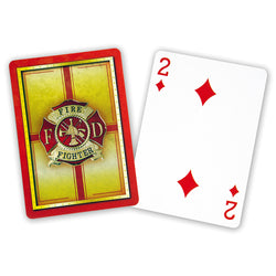 Firefighter Playing Cards