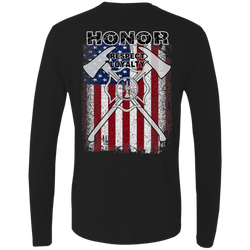 FFC 343 Honor Respect Loyalty Premium Long Sleeve Shirt