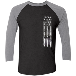 FFC 343 Support Our Heroes 3/4 Sleeve Baseball T-Shirt