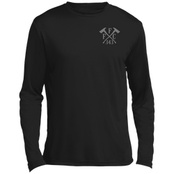 FFC 343 Crossed Axes Dri-Fit Long Sleeve T-Shirt