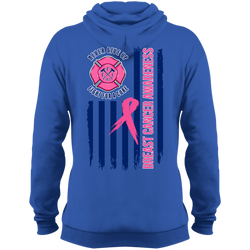 FFC Royal Blue Breast Cancer Awareness Fleece Pullover Hoodie