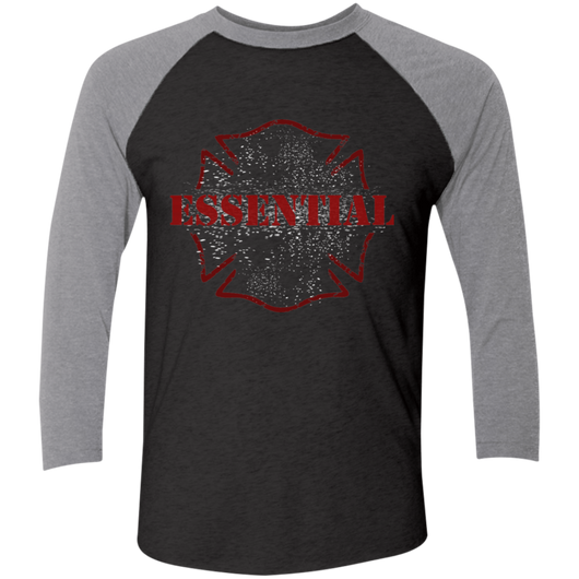 Firefighter Maltese ESSENTIAL Baseball Tee