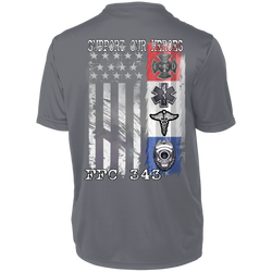 FFC 343 Dri-Fit Support Our Heroes Men's T-Shirt