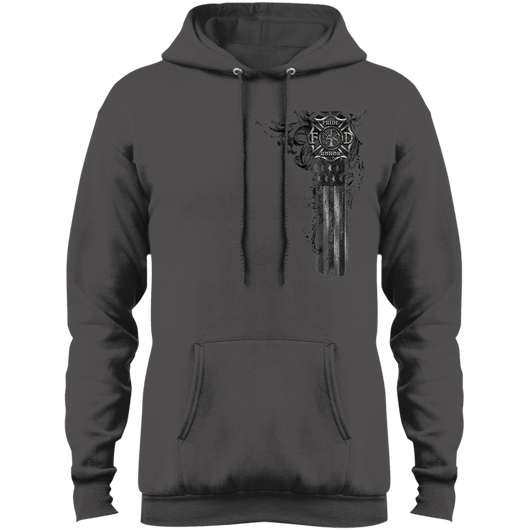 Fire Within - Pride Honor Firefighter Fleece Pullover Hoodie