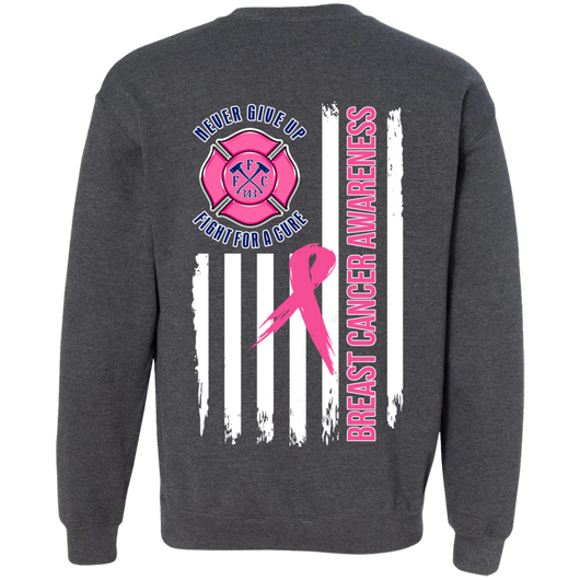 FFC Breast Cancer Awareness Crewneck Pullover Sweatshirt