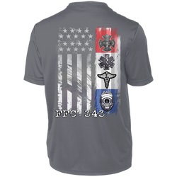 Dri-Fit Performance Cooling COVID19 Support First Responders T-Shirt FFC343