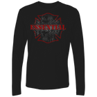 Long Sleeve Premium Fire fighter maltese Shirt