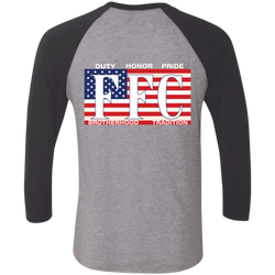 FFC 343 American Brotherhood 3/4 Sleeve Baseball Shirt