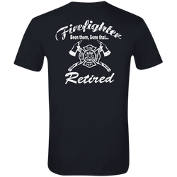 Retired Been There Done That Soft Style T-Shirt